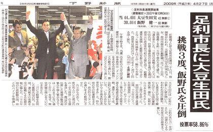 下野新聞20090427