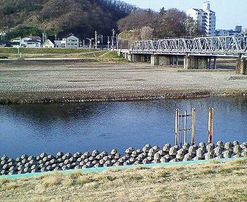 今日の渡良瀬川(2007年3月26日)