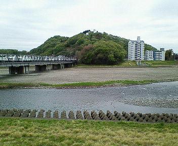 今日の渡良瀬川(2007年4月16日)