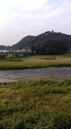 今日の渡良瀬川(2007年8月27日)