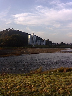 今日の渡良瀬川(2007年10月29日)