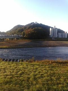 今日の渡良瀬川(2007年11月12日