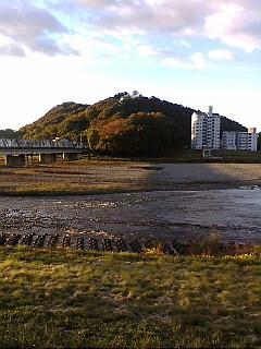 今日の渡良瀬川(2007年11月19日)