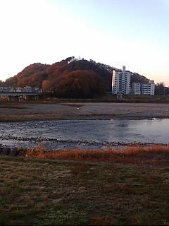 今日の渡良瀬川(2007年12月10日)