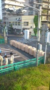 中橋水防訓練2012052701